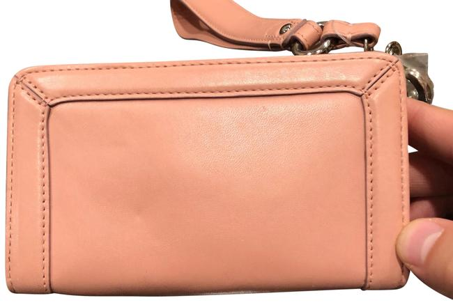 Item - Light Pink Leather Wristlet