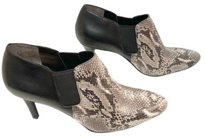 Cole Haan black/snake print Boots