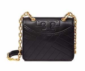 Tory Burch Alexa Quilted Leather Hobo Bag