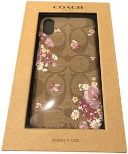 Coach Coach Iphone X case with floral print
