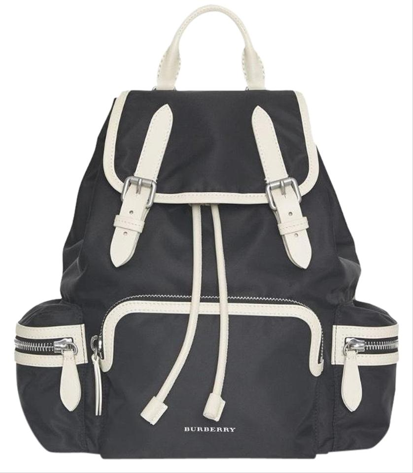 94e8755c532c Burberry Medium Rucksack In Technical Nylon and Leather Backpack ...