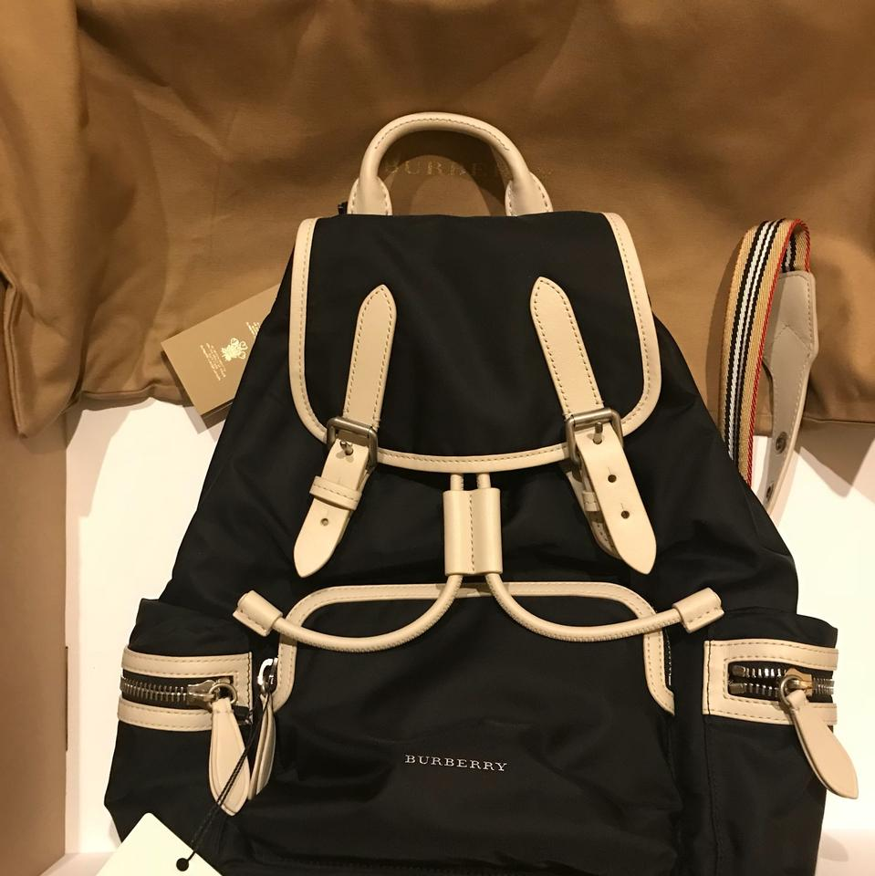 33cf7d0aee48 Burberry Medium Rucksack In Technical Nylon and Leather Backpack - Tradesy