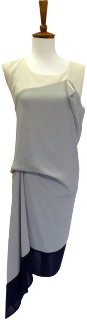 Item - Gray Runway Mid-length Night Out Dress Size 0 (XS)