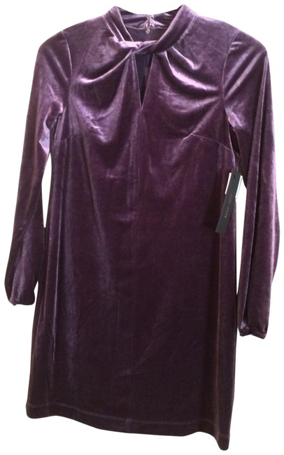 Preload https://img-static.tradesy.com/item/24348890/cynthia-steffe-aubergine-purple-velvet-long-sleeve-twist-neck-mid-length-formal-dress-size-2-xs-0-2-650-650.jpg
