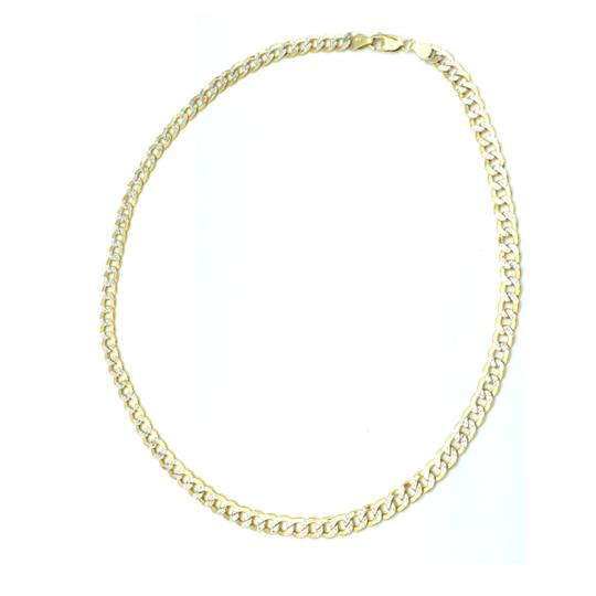 Other 10kt yellow gold two tone cuban link chain Image 1