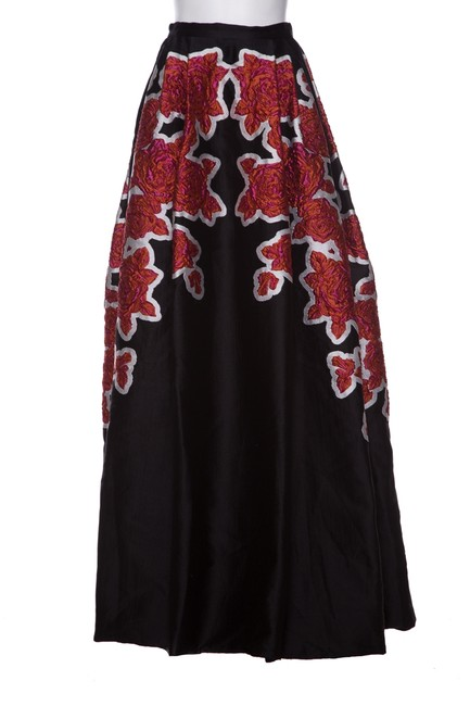 Preload https://img-static.tradesy.com/item/24349011/zuhair-murad-black-and-multi-color-skirt-size-os-one-size-0-1-650-650.jpg