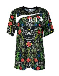 Nike T-shirt Limited Edition Floral Athleisure T Shirt Multi-Color