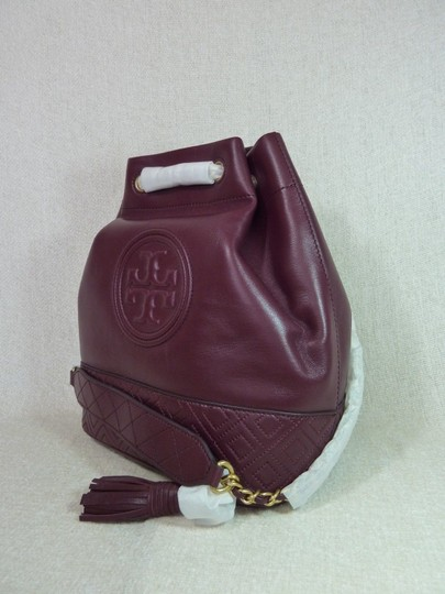 Tory Burch Tote in Burgundy Image 2