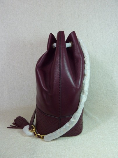 Tory Burch Tote in Burgundy Image 3