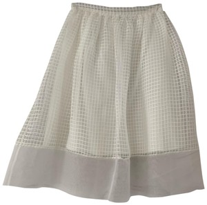 Elizabeth and James Skirt White