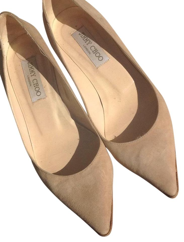sale online shop available Jimmy Choo Beige Suede London. Pumps Size US 7 Regular (M, B ...