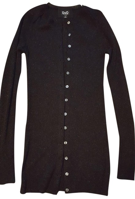 Preload https://img-static.tradesy.com/item/24349066/dolce-and-gabbana-black-d-and-g-cardigan-size-4-s-0-2-650-650.jpg