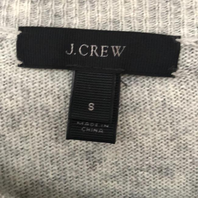 J.CREW Textured Stripe Gray Sweater Small S Sweater Image 1