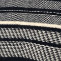 J.CREW Textured Stripe Gray Sweater Small S Sweater Image 2