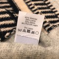 J.CREW Textured Stripe Gray Sweater Small S Sweater Image 6