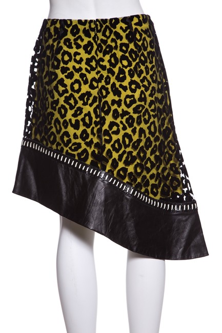 Mugler Skirt Black & Yellow Image 2