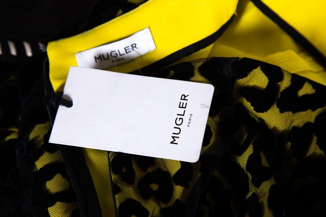 Mugler Skirt Black & Yellow Image 5