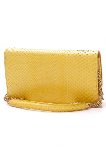 Jane Bolinger Yellow Clutch Image 1