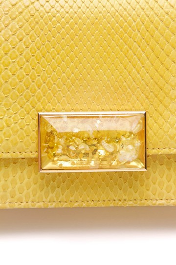 Jane Bolinger Yellow Clutch Image 5