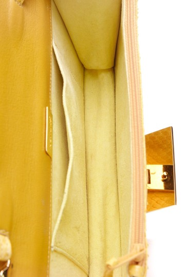 Jane Bolinger Yellow Clutch Image 6