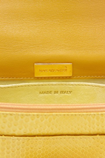 Jane Bolinger Yellow Clutch Image 7