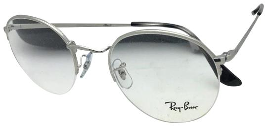 Preload https://img-static.tradesy.com/item/24349188/ray-ban-new-rx-able-rb-3947v-2501-49-22-140-round-semi-rimless-silver-sunglasses-0-1-540-540.jpg