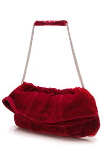 Thakoon Red Clutch