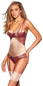 Frederick's of Hollywood Sexy Lingerie Top red