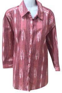 Foxcroft Top chili southwest red