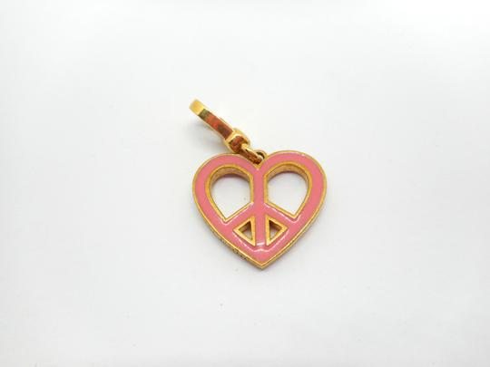 Juicy Couture Juicy Couture Reversible Pink Peace Heart Charm Image 2