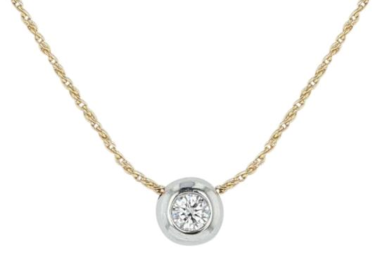 Preload https://img-static.tradesy.com/item/24349241/yellow-gold-38ct-diamond-solitaire-pendant-wheat-175-18k-platinum-necklace-0-1-540-540.jpg
