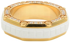 Audemars Piguet Mens Diamond Ring Wedding Band Right Hand Rose Gold SZ 9.5