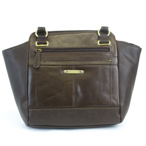 June Chino Black Tan Leather Cross Body Bag.  38.01  169.00. Stone Mountain  Accessories Satchel in Brown c8544e8289