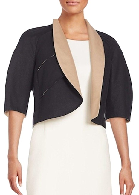 Preload https://img-static.tradesy.com/item/24349350/akris-black-nude-new-bolero-cropped-mabelle-cotton-open-2014-jacket-size-10-m-0-1-650-650.jpg
