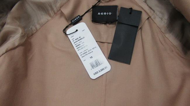 Akris Cropped Mabelle Cotton Open black nude Jacket Image 6
