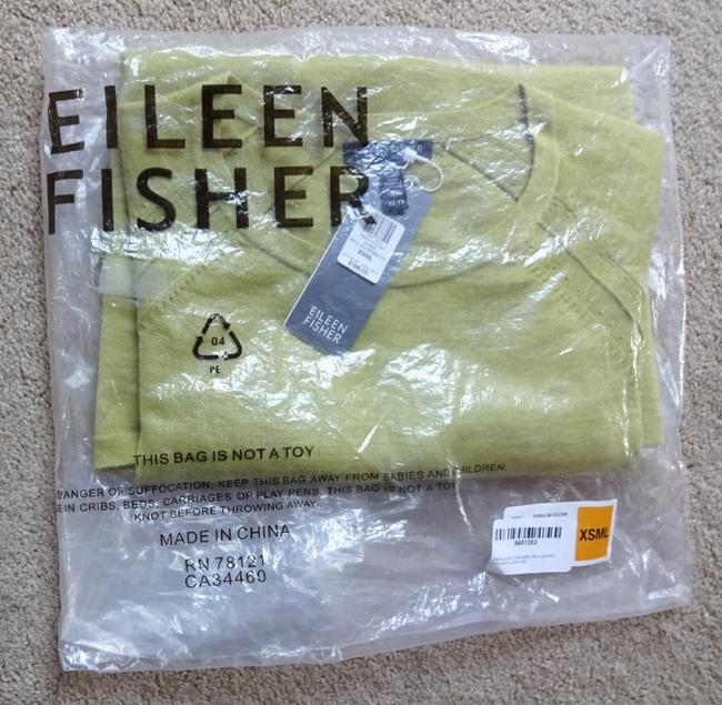 Eileen Fisher Long Sleeve Super Soft Merino Crew Neck Pointelle Knit Hand Washable Sweater Image 11