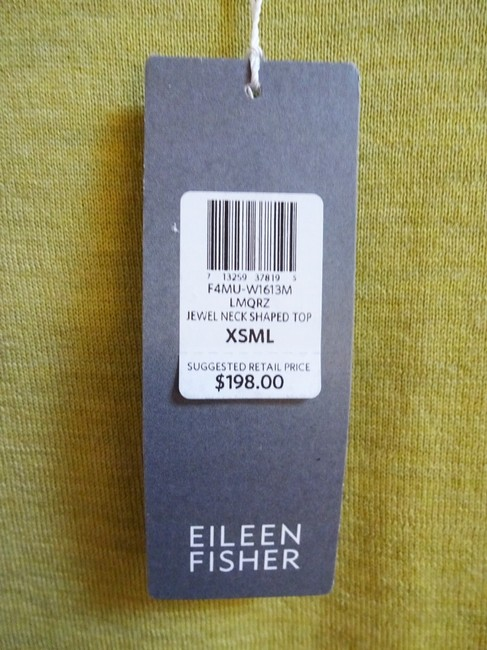 Eileen Fisher Long Sleeve Super Soft Merino Crew Neck Pointelle Knit Hand Washable Sweater Image 6