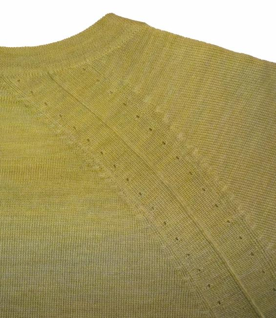 Eileen Fisher Long Sleeve Super Soft Merino Crew Neck Pointelle Knit Hand Washable Sweater Image 9