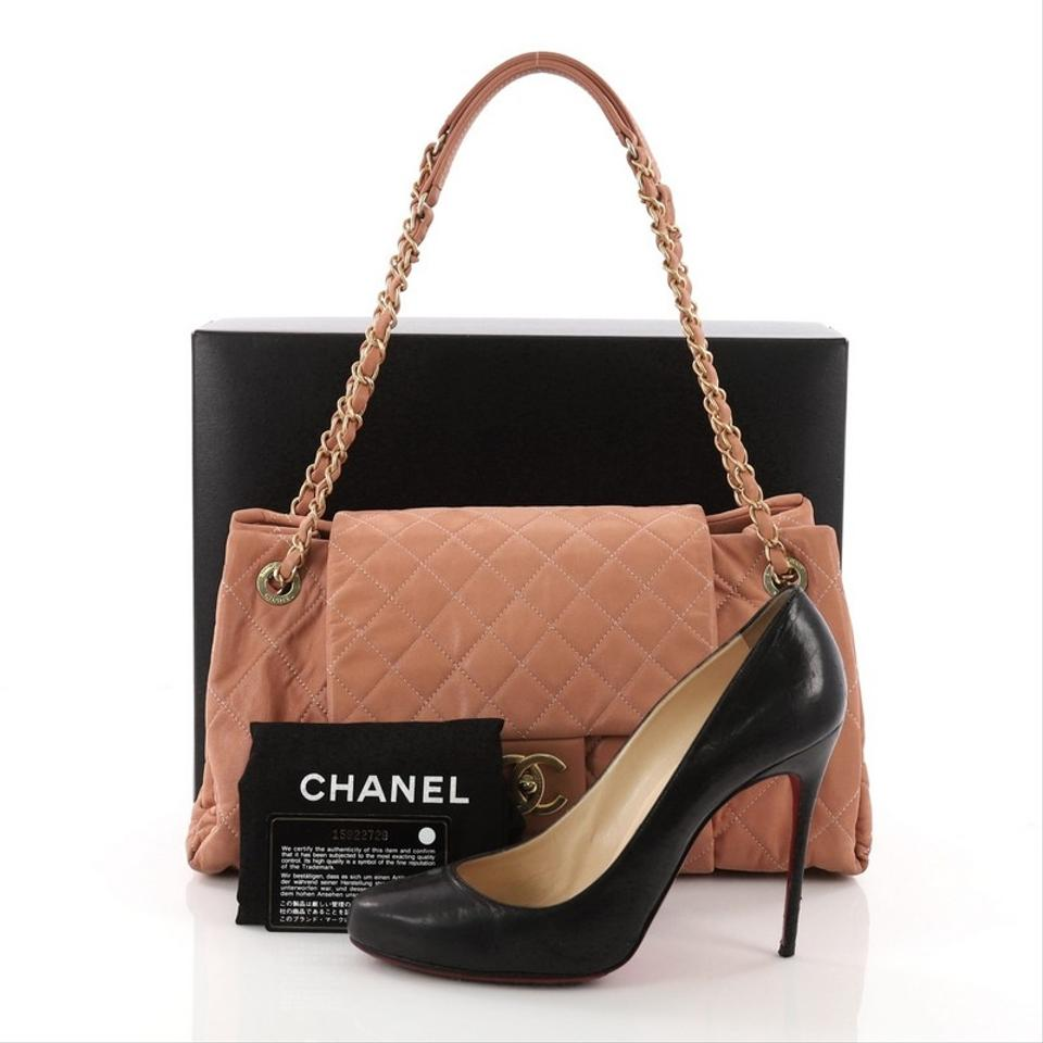 1926396113fb27 Chanel Classic Flap Chic Quilt Accordion Quilted Iridescent Calfskin ...