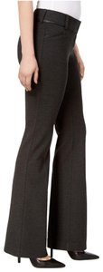 Alfani Office Knit Boot Cut Pants Gray