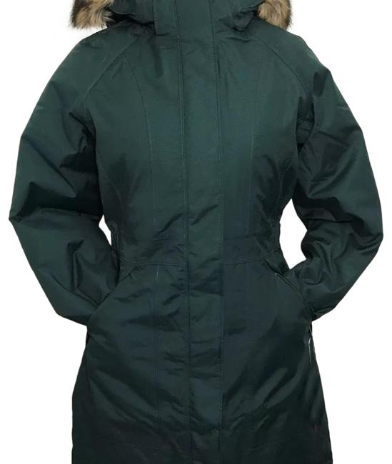 Item - Scarab Green Women Arctic Parka Dark Coat Size 4 (S)