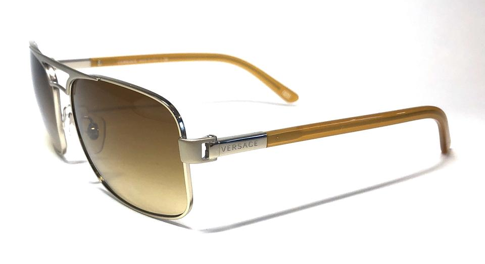 124d4f09abb Versace Vintage New Condition Aviator MOD 2127 1252 2l Free 3 Day Shipping  Image 11. 123456789101112