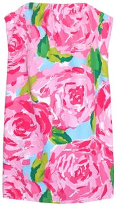 Lilly Pulitzer short dress Pink, Blue, Green, White Hotty Keetan Strapless First Impression on Tradesy