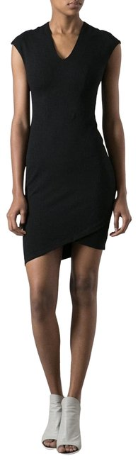 Preload https://img-static.tradesy.com/item/24349949/helmut-lang-black-fitted-short-cocktail-dress-size-4-s-0-3-650-650.jpg
