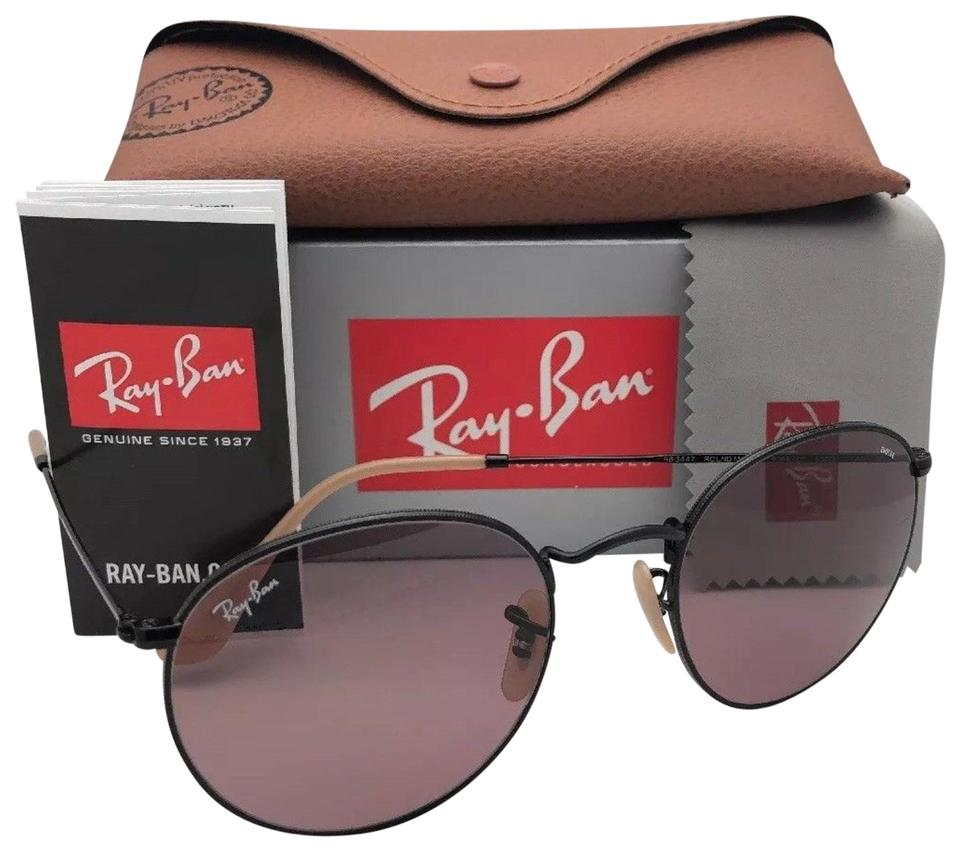 cd08e15b132c Ray-Ban Photochromic RAY-BAN Sunglasses ROUND METAL 3447 9066/Z0 53- ...