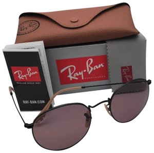 Ray-Ban Photochromic RAY-BAN Sunglasses ROUND METAL 3447 9066/Z0 50-21 Black