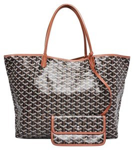 Goyard Saint Louis Neverful Travel Chanel Tote in Black