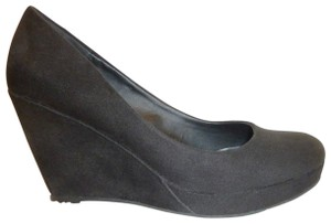 Apt. 9 Nwb Micro Suede Black Wedges