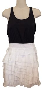 Mary L Couture short dress Black & White on Tradesy