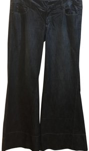 Level 99 Trouser/Wide Leg Jeans-Distressed